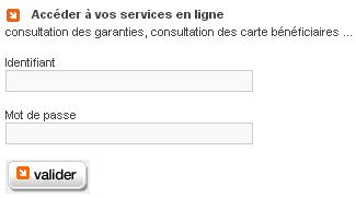Accéder à vos services en ligne