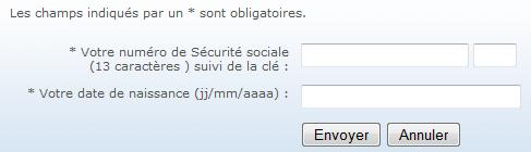 Code confidentiel oublié MNH
