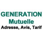 Generation mutuelle Adresse postale, Avis, Tarif – www.generation.fr