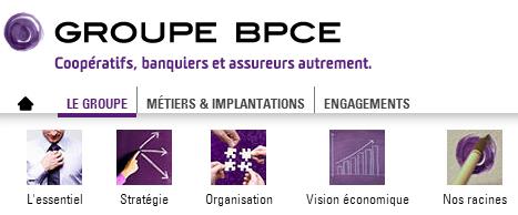 Accédez aux services en ligne sur le site de la BPCE